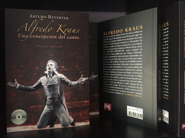 Presentado el libro: Alfredo Kraus. Una concepción del Canto
