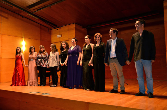 Un prometedor concierto cerró la primera semana del IV Curso Internacional de Canto