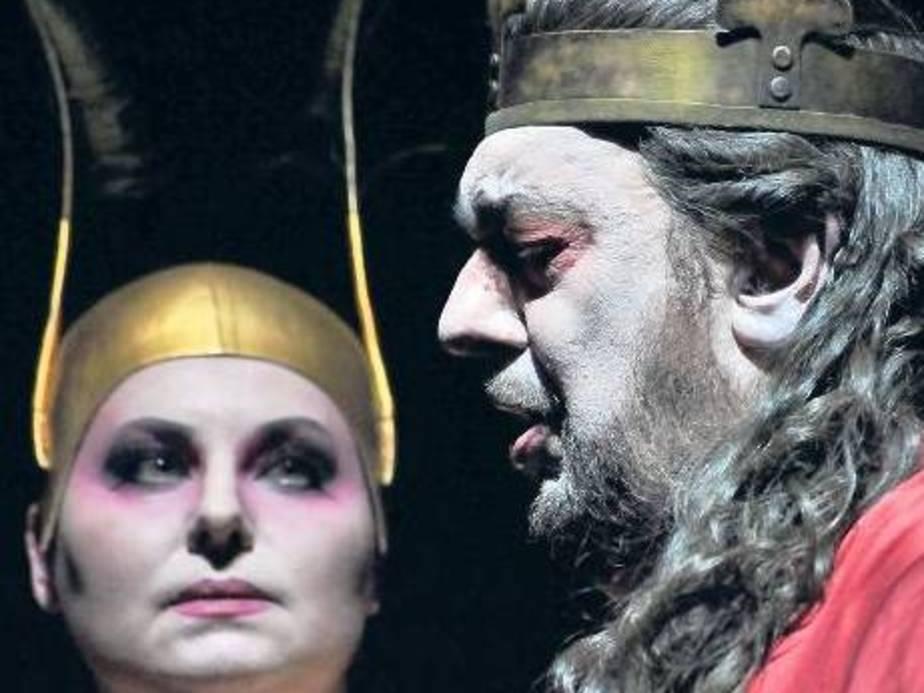 Plácido Domingo como Macbeth