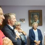 Homenaje a Jorge Sanchez Caso en los locales de ALAAK
