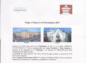 ANA NETREBKO y PIORT BEZCALA en ADRIANA LECOUVEUR. Viena Noviembre de 2017