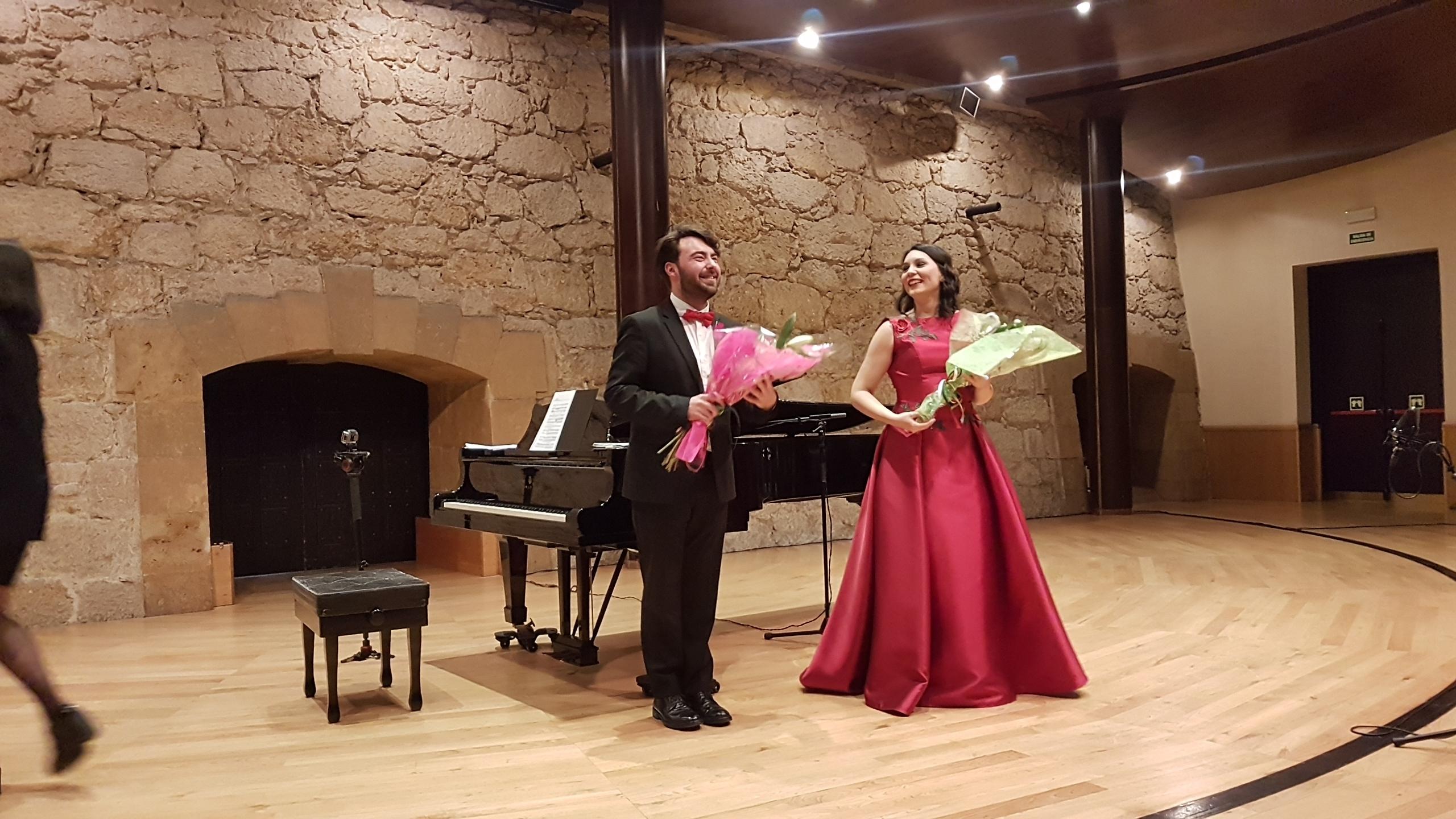 Concierto Lírico de Ana Victoria Pitts en la Sala de Cámara del Auditorio