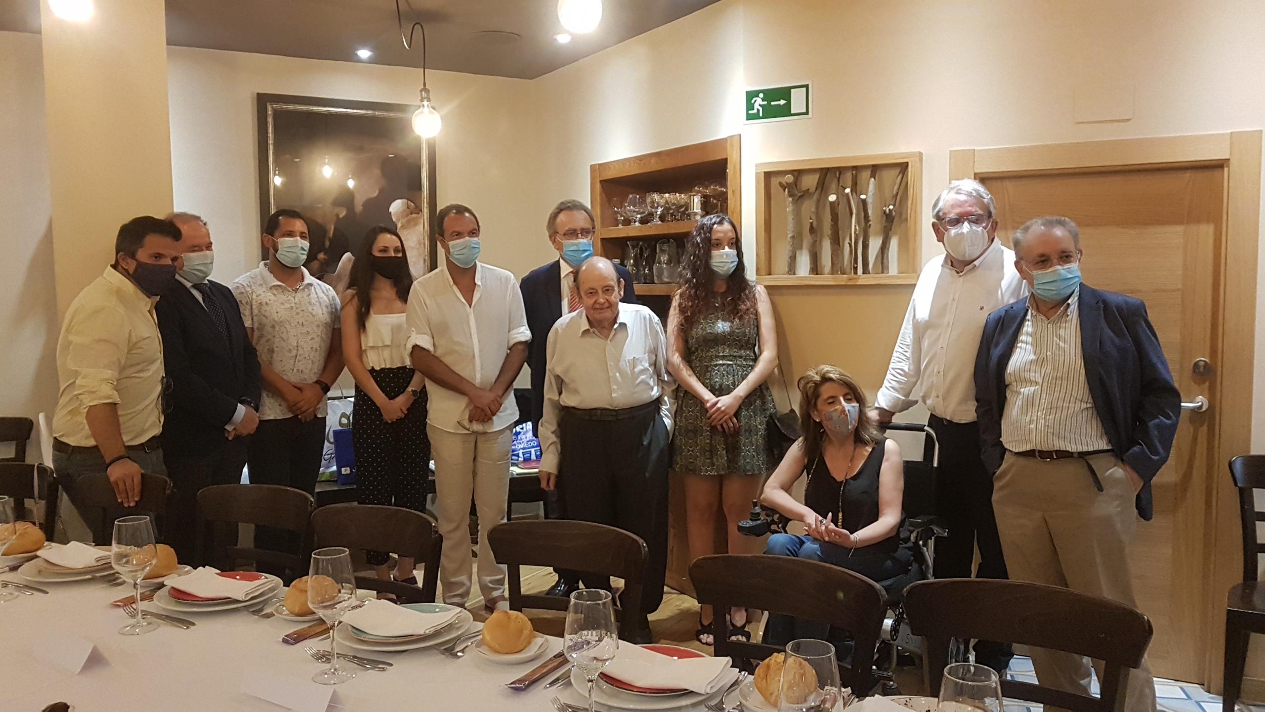 La Asociación nombra a Vidal Peña Socio de Honor de la entidad